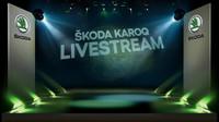 Živý přenos odhalení nového SUV Škoda Karoq, které proběhne dnes od 19:00 ve Stockholmu