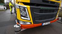 Autonomní popelářský vůz Volvo