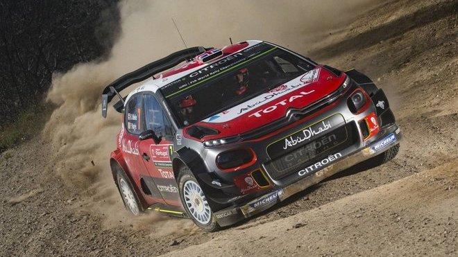 C3 WRC má problémy s terénními nerovnostmi
