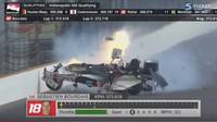 Sébastien Bourdais tvrdě havaroval při tréninku na závod Indy 500
