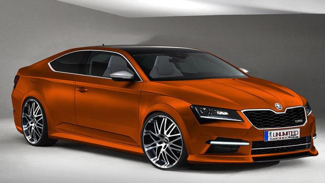 Ilustrační fotografie - Škoda Superb kupé (Unlimited-Concept)