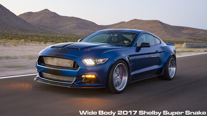 Shelby Widebody 2017 Super Snake Concept
