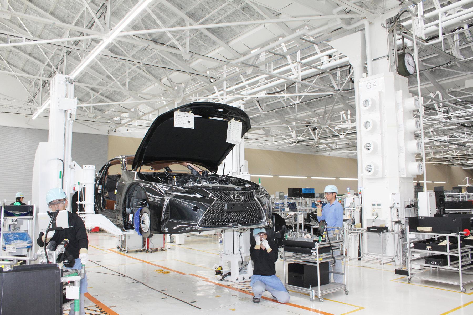 Nová továrna automobilky Lexus