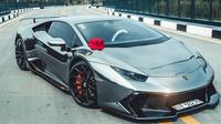 Lamborghini Huracán s body-kitem Novara a chromovou folií