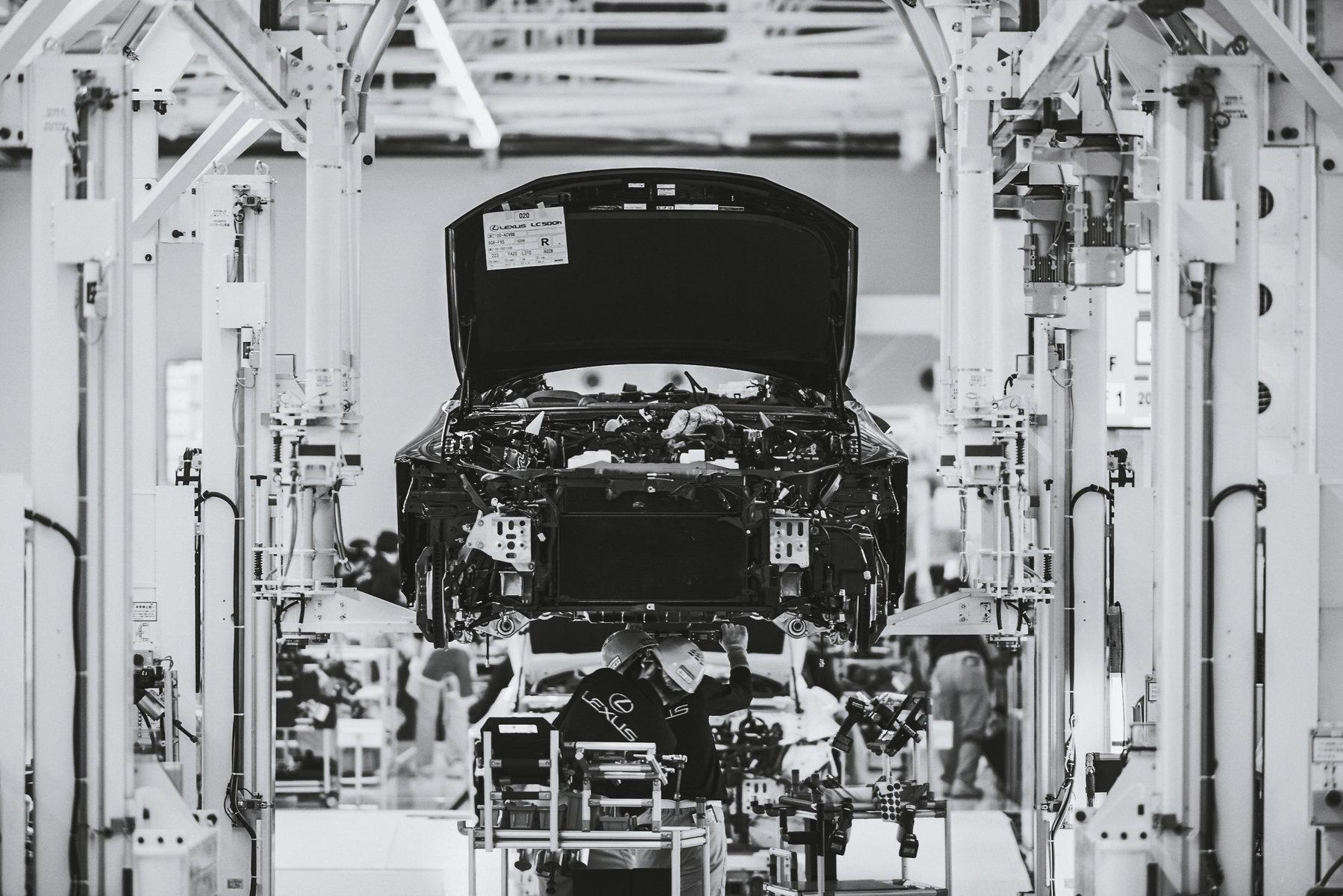 Nová továrna automobilky Lexus sloužící k výrobě modelů LC