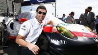 Mark Webber před startem závodu WEC ve SPA-Francorchamps