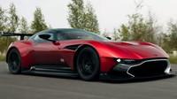 Jeremy Clarkson se projel v Aston Martinu Vulcan během natáčení pořadu Grand Tour