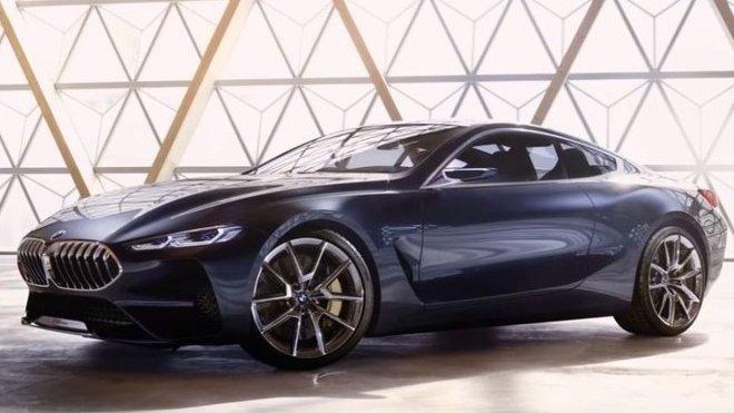 koncept BMW řady 8