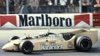Jochen Mass za volantem velmi zajímavého Arrows A2 při GP Velké Británie 1979