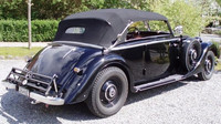 Údajný Heydrichův vůz Mercedes-Benz 320 Cabriolet B z Dánska