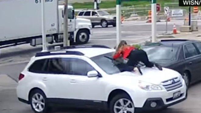 Majitelka se svého Subaru odmítla vzdát