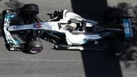 Lewis Hamilton byl v Rakousku na rovinkách nejrychlejší