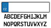Registrační značka - ilustrační foto