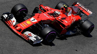 Kimi Räikkönen v kvalifikaci v Monaku