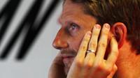 Romain Grosjean v kvalifikaci v Monaku