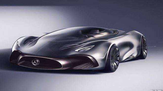 Zajímavý koncept Mercedes-AMG