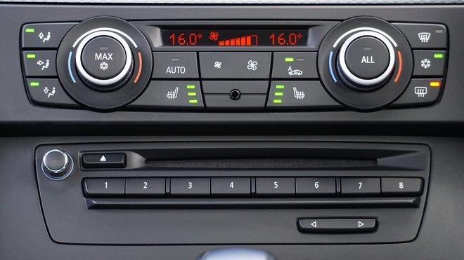 Panel klimatizace, ilustrační foto