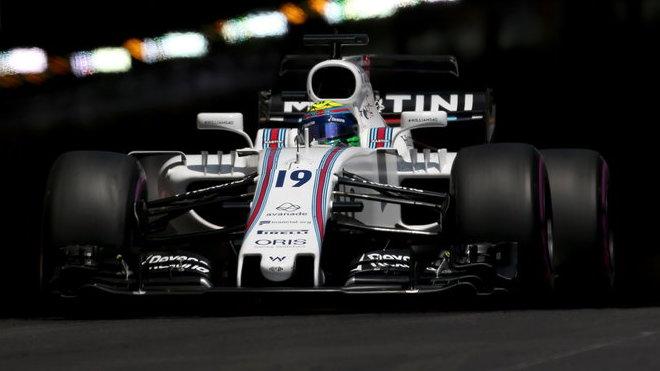 Felipe Massa ve Velké ceně Monaka