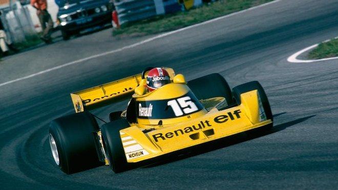 Renault RS01 v původním provedení