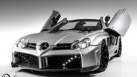2008 Mercedes-Benz SLR McLaren Fab Design Wide Body