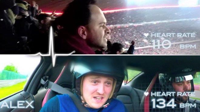 Nissan provedl zajímavý experiment, kdy porovnával zážitek z jízdy na okruhu se sledováním zápasu UEFA