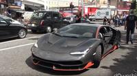 Unikátní Lamborghini Centenario způsobilo v ulicích Londýna poprask
