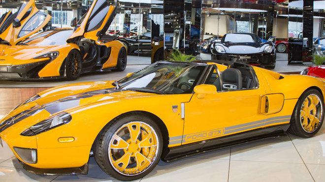 Vzácný Ford GT X1 z roku 2006