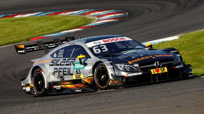 Engel šokoval svět DTM svým vítězstvím