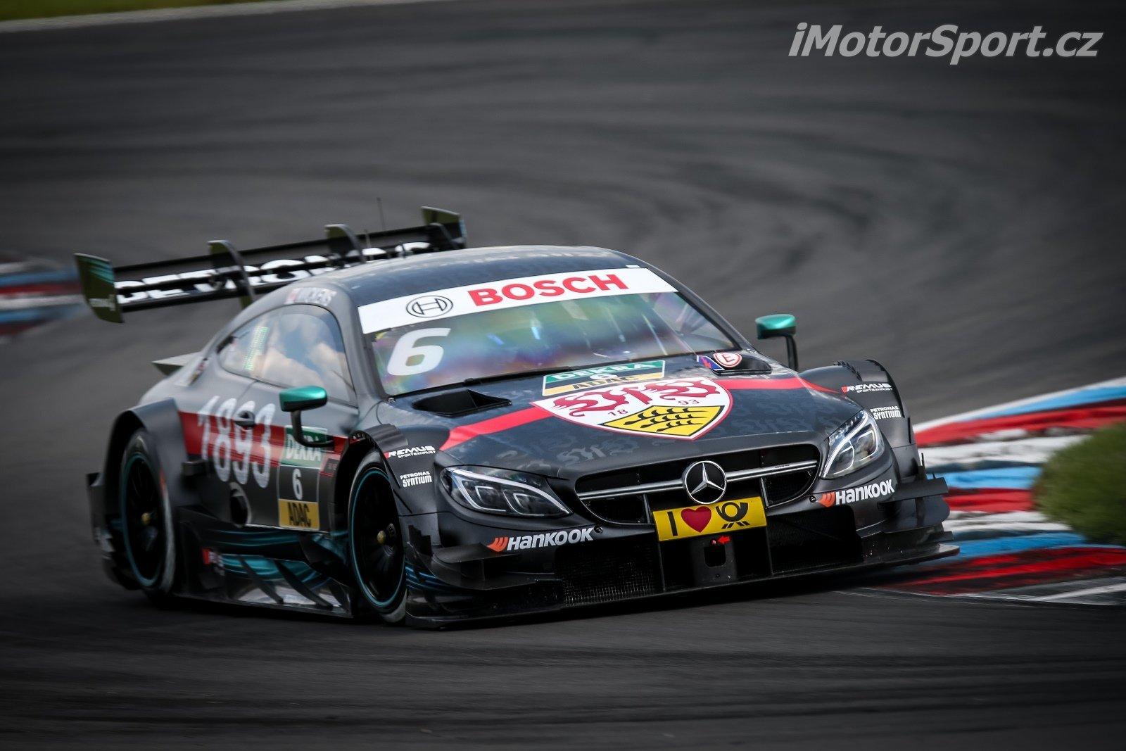 Robert Wickens nesl na svém autě v prvních dvou závodech speciální zbarvení, v Budapešti se pak vrátil k tomu, které měl na předsezónní prezentaci