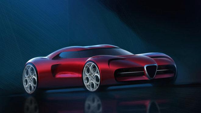 Koncept supersportu Alfa Romeo