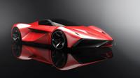 Koncept Ferrari LaRossa 2020