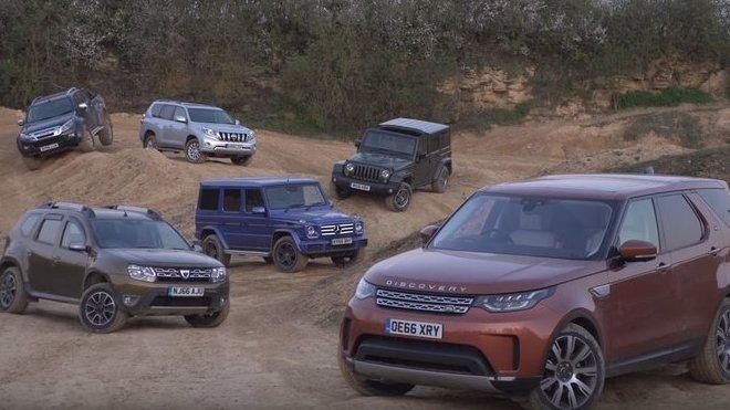 Redaktoři z Autocar se rozhodli otestovat nejoblíbenější off-roady a vybrat ten nejlepší