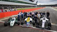 Williams v Silverstone oslavil 40. výročí