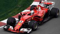 Sebastian Vettel při tréninku v Kanadě