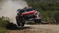 Loeb poznal v testu zlepšení Citroënu C3 WRC v porovnání s loňským rokem