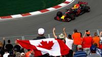 Max Verstappen při tréninku v Kanadě
