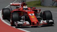 Sebastian Vettel v kvalifikaci v Kanadě