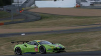 Zelené Ferrari 488GTEv barvách týmu Krohn Racing