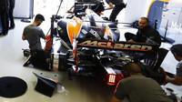 Fernando Alonso při tréninku v Kanadě