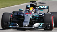 Lewis Hamilton v kvalifikaci v Kanadě