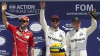 Lewis Hamilton dorovnal Ayrtona Sennu v počtu pole position v Kanadě