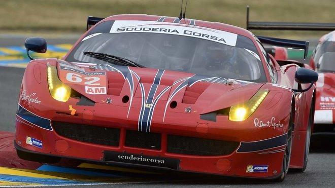Ferrari 488 GTE v barvách týmu Scuderia Corsa