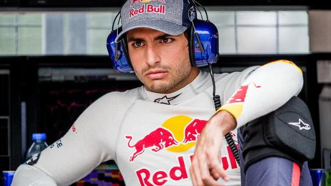 Carlos Sainz při tréninku v Kanadě