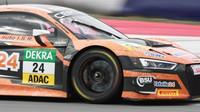 Filip Salaquarda si letos dělí Muecke-Audi s Markusem Winkelhockem. V Rakousku zůstali bez bodů.