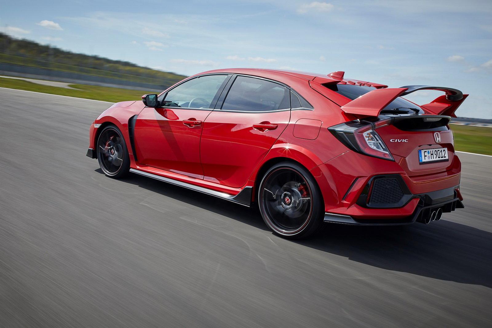 Fotografie č. 3 u článku Honda Civic Type R sbírá další vavříny c6aa6d05b8