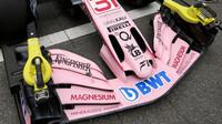 Přední křídlo voz Force India VJM10 - Mercedes v Kanadě