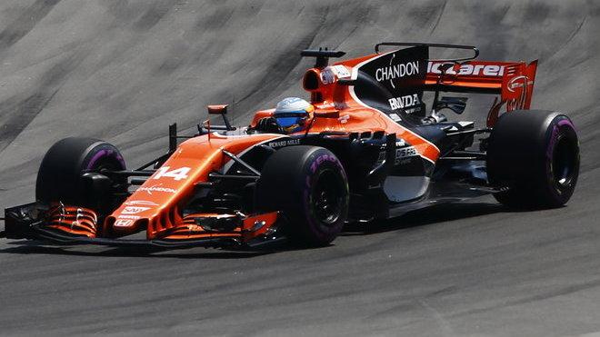 Fernando Alonso chce bojovat o vítězství, s Hondou to žel zatím nejde