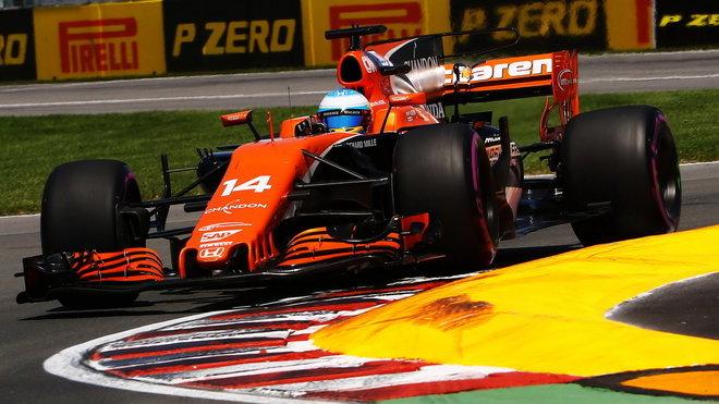 Fernando Alonso v Kanadě