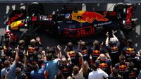 Daniel Ricciardo dojel na třetím místě v závodě v Kanadě