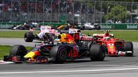 Daniel Ricciardo v závodě v Kanadě